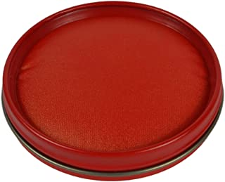 Calligraphy Stamp Seal Painting Red Ink Paste Chinese Yinni Pad (Red)