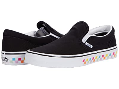 Vans Kids Classic Slip-On (Big Kid) ( Girls Shoes