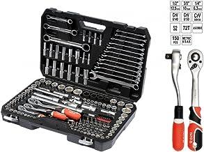 طقم لقم وأدوات 150 قطعة من ياتو YT-38811