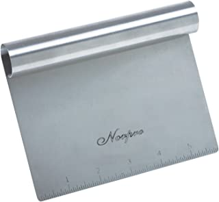 (1, 6in/15cm x 4in/10cm) - Stainless Steel Scraper/Chopper