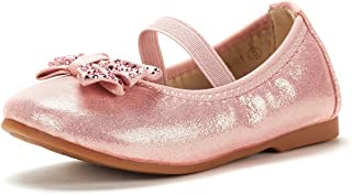 Girl's Toddler/Little Kid/Big Kid Tiana Mary Jane Ballerina Flat Shoes