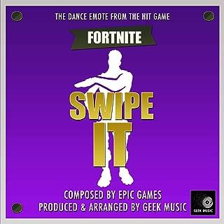 Fortnite Battle Royale - Swipe It - Dance Emote