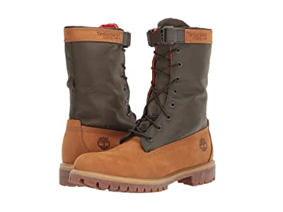 Timberland 6 Premium Gaiter Boot (Wheat Nubuck) Men