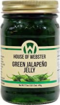House of Webster Green Jalapeno Pepper Jelly 17.5 oz