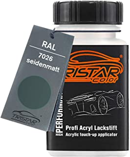 TRISTARcolor RAL 7026 Granitgrau seidenmatt Lackstift 50 ml schnelltrocknend