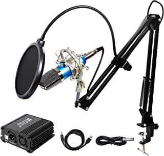 TONOR Pro Condenser Microphone XLR to 3.5mm Podcasting...