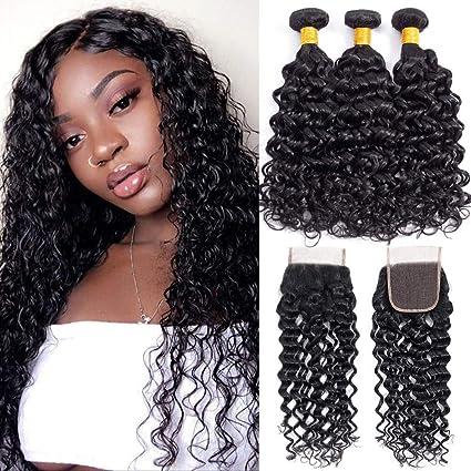 Alibeauty 10A Brazilian Human Hair Weave Bundles