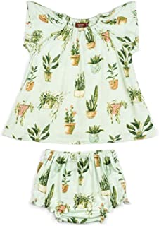 12-18 Months, Rose Doe MilkBarn Peasant Dress Bloomer Set