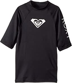 Whole Hearted Short Sleeve Rashguard (Big Kids)