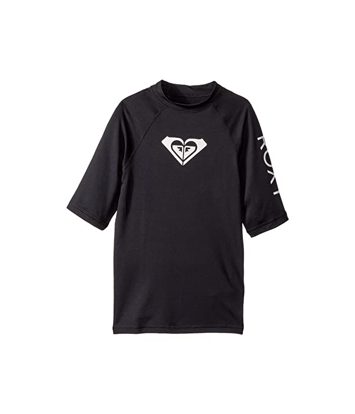 Roxy Kids Whole Hearted Short Sleeve Rashguard Big Kids