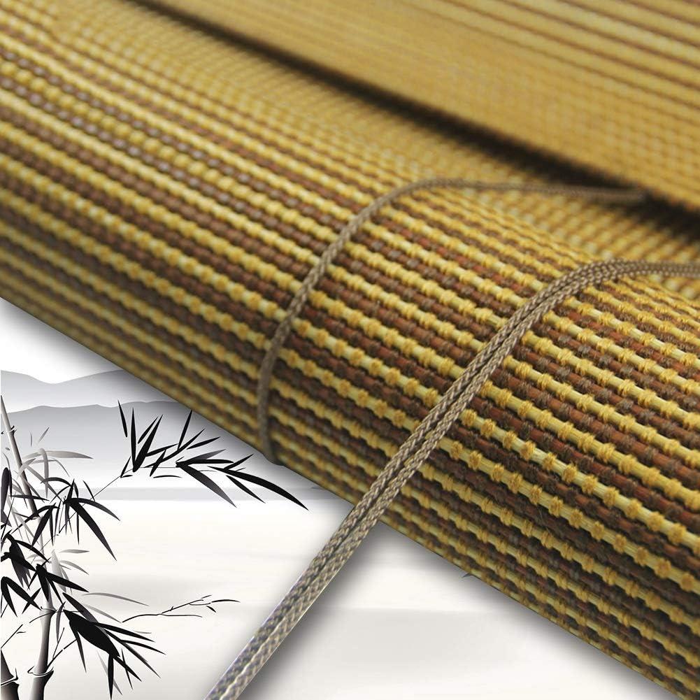 Philadelphia Mall JUANJUAN Roller Blind Bamboo Shade Window Up Max 52% OFF Curtain Roll Blinds