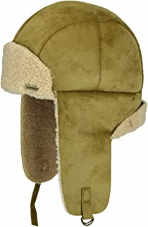 قبعة Kangol Men's Faux Shearling Aviator Hat
