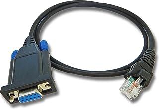 vhbw RS232-Cable programación para Dispositivos de Radio Motorola GM140, GM160, GM300, GM338, GM340, GM350, GM360, GM380, ...