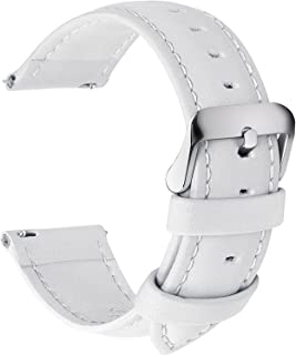 7f394ac1fd0 Amazon.com  White - Watch Bands   Watches  Clothing