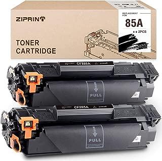 Ziprint Compatible Toner Cartridge Replacement for HP 85A CE285A for Laserjet Pro P1102W P1109W M1212NF M1217NFW Printer (Black, 2-Pack)