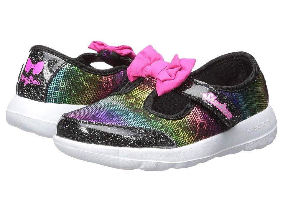 SKECHERS KIDS Go Walk Joy Bitty Glam 81179N (Infant/Toddler/Little Kid) (Black) Girls Shoes
