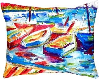"""Betsy Drake NC423 Betsy's Marina II No Cord Pillow,,16"""" X20"""""""