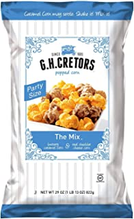 G.H. Cretors Chicago Popcorn Mix 29 oz, (2 Pack)