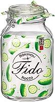 Bormioli Rocco Fido Clip Jar, Clear, 3 litres, Brr.Gw008043