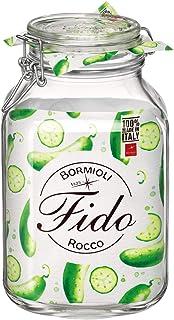Bormioli Rocco Fido EINKOCHGLAS 3 LT. MIT BUEGELVERSCHLUSS, Glas, Durchsichtig, 1-Pack