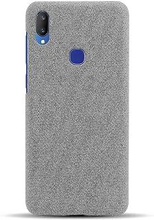 """Hicaseer Mobilskal för Vivo V11i/Z3i,Tyg Textur Mjuk TPU Telefonfodral,Stöt- och droppskydd Fodral för Vivo V11i/Z3i 6.3""""..."""