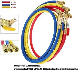 Best refrigerant gauge hoses Reviews
