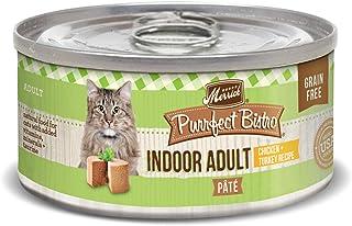 Merrick Purrfect Bistro Grain Free Pate Wet Cat Food Indoor Adult Chicken & Turkey (24) 3oz cans