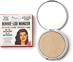 theBalm Bonnie-Lou Manizer Highlighter & Shadow, Highly Pigmented, Gilded Highlighter