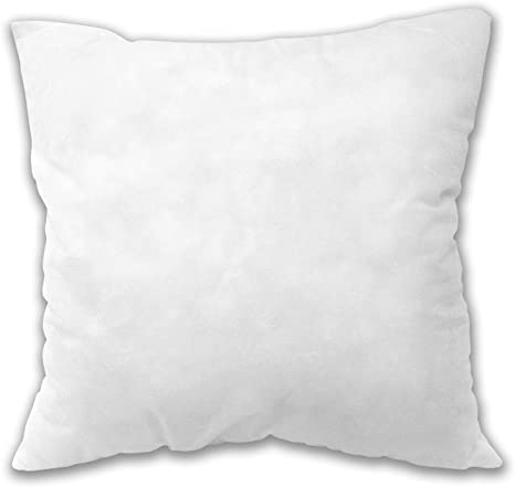 Decorative Pillow Insert 18x18 Premium Hypoallergenic Regular Size 4 Pack Throw Pillow Insert Square Sham Stuffer Pillow 100 New Polyester Fiber Guarantee Made In China Amazon Ca Home Kitchen