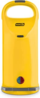 Dash Omelette Maker with Dual Non Stick Plates - Perfect for Eggs, Frittatas, Paninis, Pizza Pockets & Other Breakfast, Lunch, and Dinner Options - Yellow