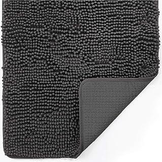 Gorilla Grip Indoor Durable Chenille Doormat, 60x36, Soft Absorbent Mat, Machine Wash Inside Mats, Low-Profile Rug Doormat...