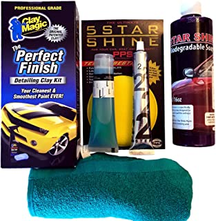 5 Star Shine Paint Protection System - Deluxe Kit - Never Wax Your Car Again