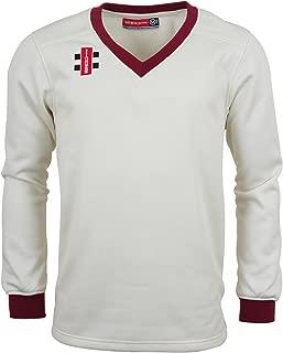 Gray Nicolls Mens Velocity V-Neck Cricket Sweater/Jumper