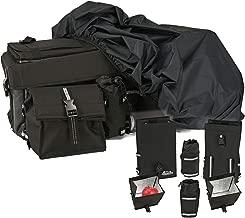 Kolpin 91156 ATV 36L Gear /& 20L Cooler Rear Storage Bag BLACK