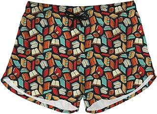1d774b9cf9e36 Showudesigns Tropical Plants Board Shorts Women's Swimming Trucks with  Pockets Summer Shorts Pants Bathing Suits