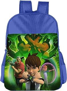 CNJELLAW B-Ben-10 Destroy-Aliens School Bag Print Lightweight Student Backpacks Kids Bookbag Daypack