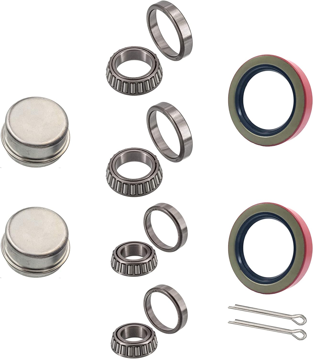 Doc's Auto Gifts Parts Trailer Bearing Repair 2021 Inch to fits 8 Kits 1-3