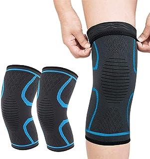 膝サポーター 膝固定 [ 2個セット] スポーツ Seitaku 膝 痛み 保温 怪我防止 関節 靭帯 筋肉保護 滑り止め 通気性 伸縮性 登山 左右 男女兼用