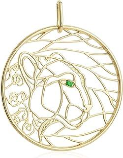 Gold Panther Pendant