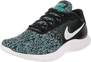 Nike Women's Flex Contact Running Shoe Black (6)