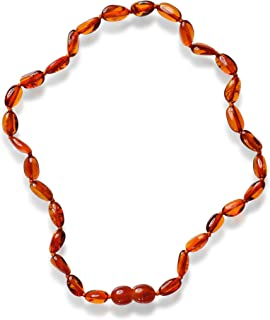 Collana in Ambra BA4U collana d'ambra per bambini 32cm Collana Naturale
