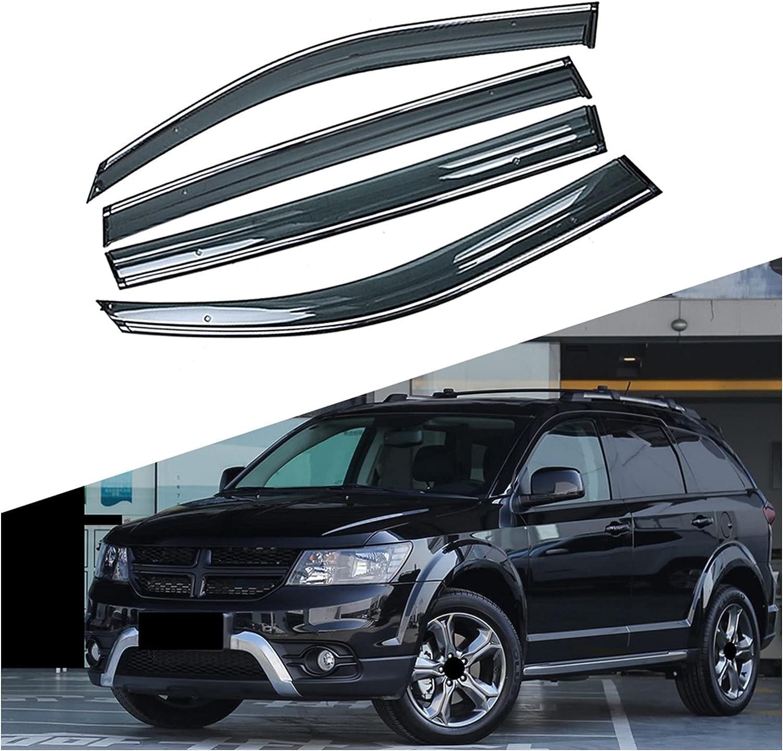 MYDH Window Fixed price for sale Visor Deflectors Car Shelter Rain Shield Choice Sun