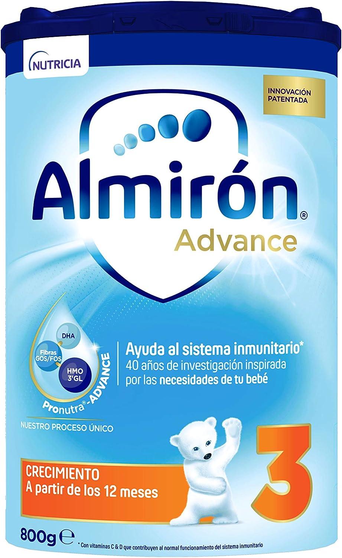 Almirón Advance 3 Leche de Crecimiento en Polvo Desde Los, 12 Meses, 800g