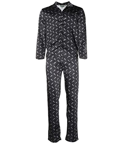 Carrots By Anwar Carrots All Over Carrots Pajama Set (Black) Men