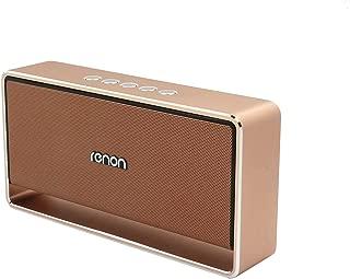 Renon Storm-2 Bluetooth Speaker, Gold - RN-906