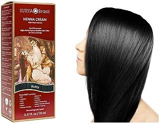 Henna Black Cream Surya Nature, Inc 2.37 Ounce Cream