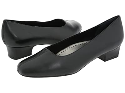 Trotters Doris (Black Soft Kid) Women
