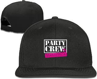 EANTE Baseballmütze für Mädchen, Party, Crew, Mallorca, Herren Caps für Damen, klassischer Sport, einfarbig