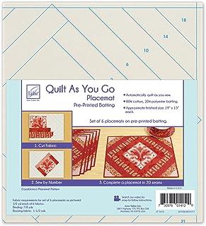 June Tailor Quilt as You Go Placemat, Multi-Colour, 24.38 x 28.95 x 8.38 cm