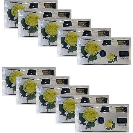 Hochzeitskamera Yellow Roses 10er Pack Einwegkamera Kamera